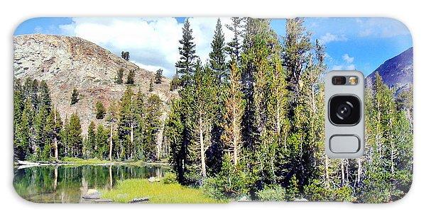Tall Trees Galaxy Case by Marilyn Diaz