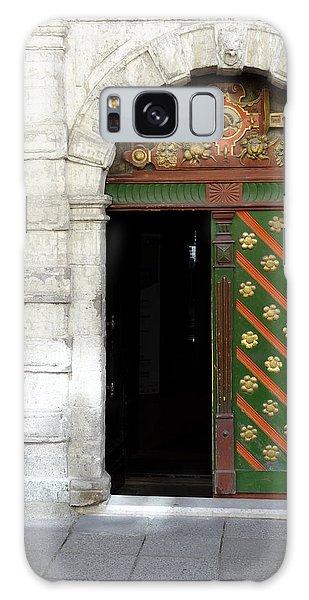 Tallinn Doorway Galaxy Case by David Nichols