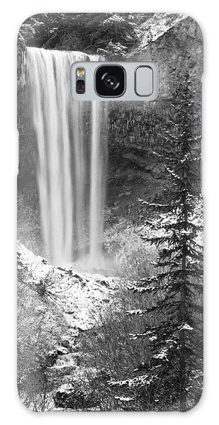 Tamanawas Falls In Winter Galaxy Case