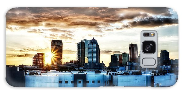Tampa Skyline At Sunset Hdr 1 Galaxy Case