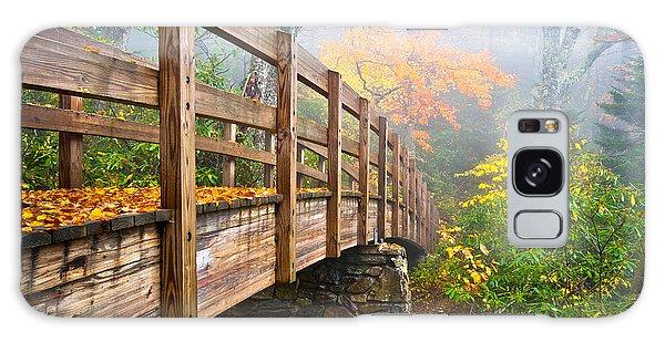 Tanawha Trail Foot Bridge - Rough Ridge Autumn Foliage Nc Galaxy Case