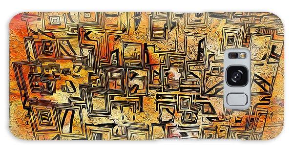 Imagery Galaxy Case - Tangerine Dream by Jack Zulli