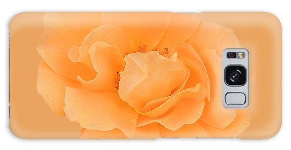 Tangerine Rose Galaxy Case by Teresa Schomig