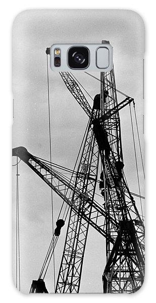 Tangled Crane Booms Galaxy Case