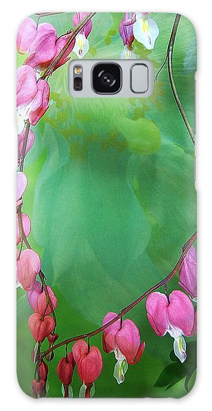 Tangled Love Galaxy Case by Shirley Sirois