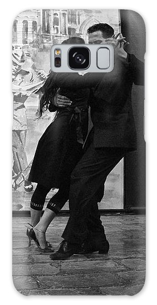 Tango Dancers In Buenos Aires Galaxy Case