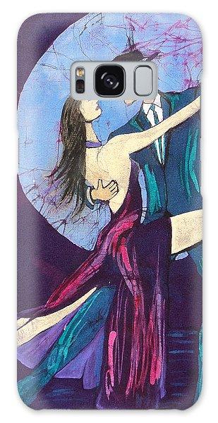 Tango Dancers Galaxy Case