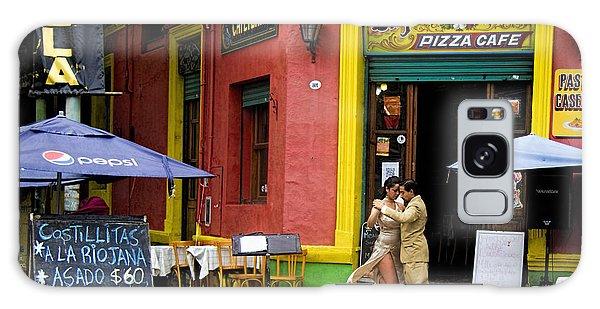 Tango Dancing In La Boca Galaxy Case
