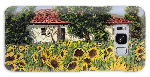 Borelli Galaxy Case - Tanti Girasoli Davanti by Guido Borelli