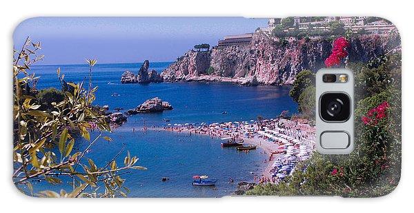 Taormina Beach Galaxy Case by Dany Lison