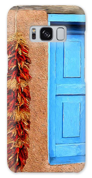 Taos Blue Door Galaxy Case