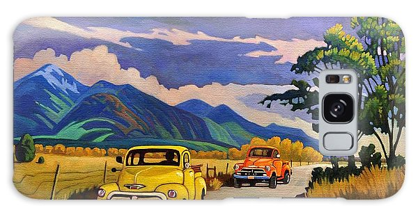 Taos Joy Ride With Yellow And Orange Trucks Galaxy Case
