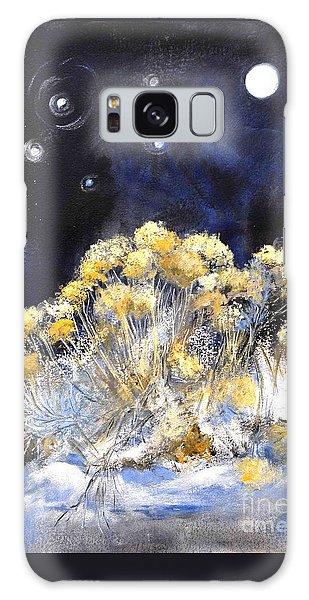 Taos Night Orbs Galaxy Case