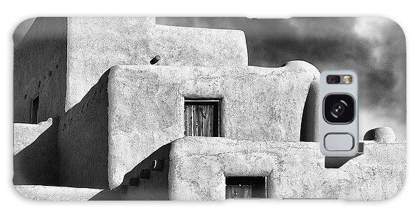 Taos Pueblo Stacks Galaxy Case