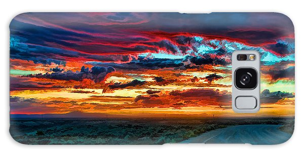 Taos Sunset Iv Galaxy Case