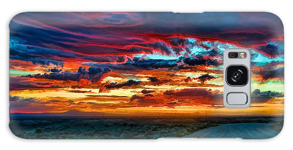 Taos Sunset Iv Galaxy Case