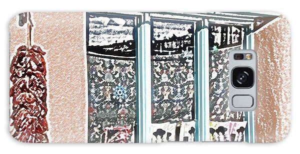 Taos Window Galaxy Case by Kathleen Stephens