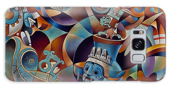 Tapestry Of Gods - Tlaloc Galaxy Case