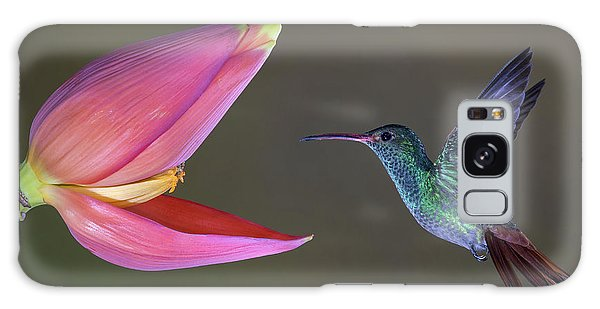Pink Flower Galaxy Case - Target Practice by Greg Barsh