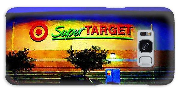 Target Super Store B Galaxy Case by P Dwain Morris