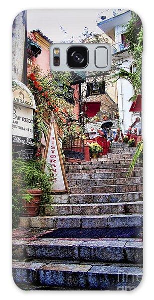 Taormina Steps Sicily Galaxy Case