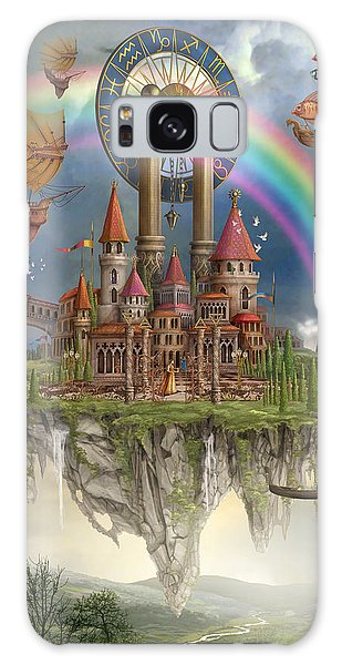 Hot Air Balloons Galaxy Case - Tarot Town by MGL Meiklejohn Graphics Licensing