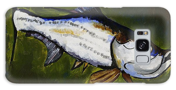 Tarpon Fish Galaxy Case
