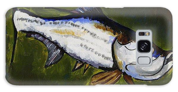 Tarpon Fish Galaxy Case
