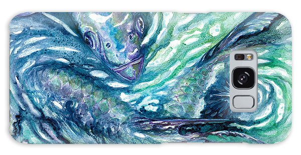 Tarpon Frenzy Galaxy Case
