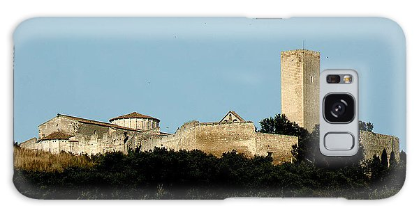Tarquinia Landscape With Tower Galaxy Case