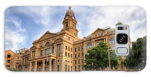 Galaxy Case featuring the photograph Tarrant County Courthouse II by Joan Carroll