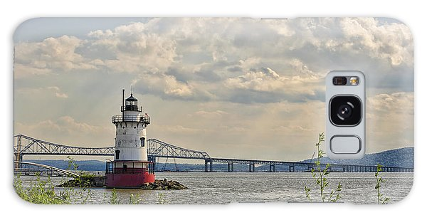 Tarrytown Lighthouse And Tappan Zee Bridge Sleepy Hollow Ny Galaxy Case
