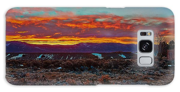 Taos Sunrise Galaxy Case