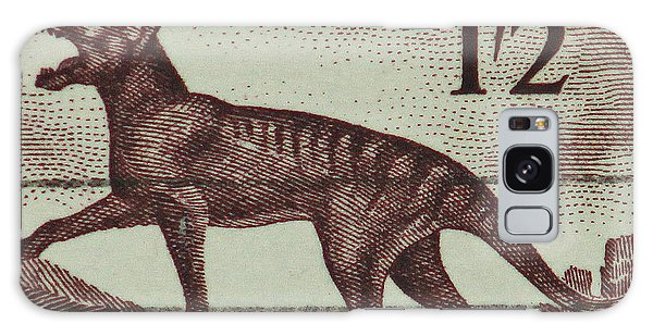 Tasmanian Tiger Vintage Postage Stamp Galaxy Case