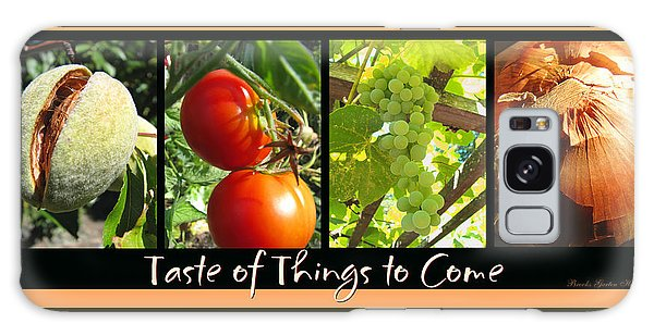 Taste Of Things To Come Photo Collage Galaxy Case by Brooks Garten Hauschild