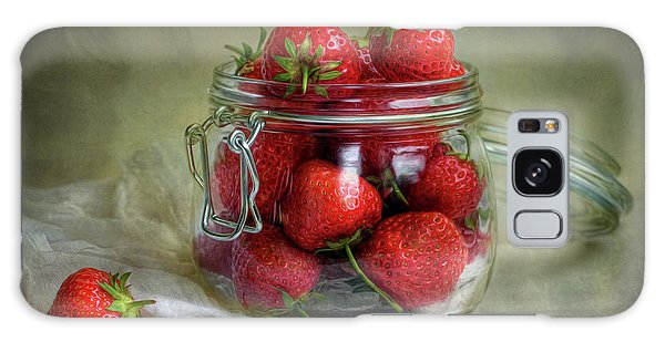 Strawberry Galaxy Case - Tastes Of Summer by Mandy Disher