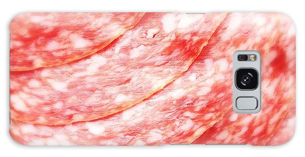 Food And Beverage Galaxy Case - Tasty Salami Closeup by Matthias Hauser
