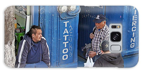 Tatoo Guys Galaxy Case
