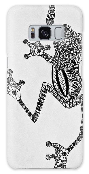 Tattooed Tree Frog - Zentangle Galaxy Case by Jani Freimann
