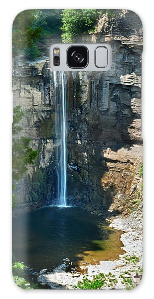 Taughannock Falls Galaxy Case by Christina Rollo