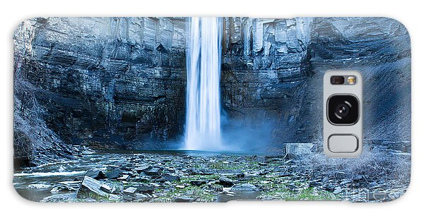 Taughannock Falls In Spring Galaxy Case