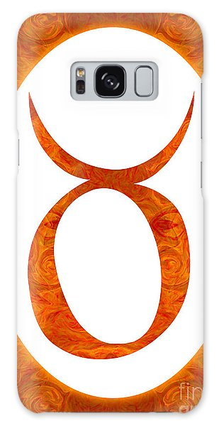 Taurus And Sacral Chakra  Abstract Spiritual Artwork By Omaste W Galaxy Case