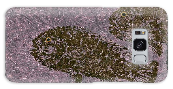 Tautog On Bubble Gum Unryu Paper Galaxy Case