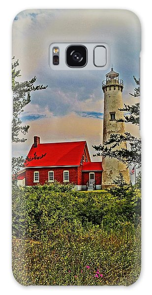 Tawas Point Light Retro Mode Galaxy Case