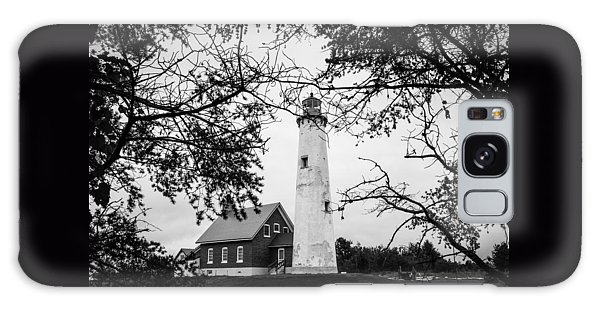 Tawas Point Lighthouse Galaxy Case