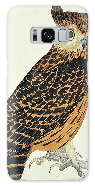 Mottled Galaxy Case - Tawny Fish Owl by Natural History Museum, London/science Photo Library