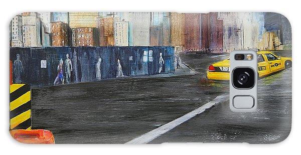 Taxi 9 Nyc Under Construction Galaxy Case