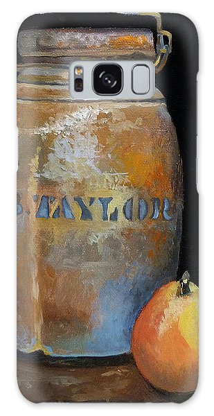 Taylor Jug With Pear Galaxy Case by Catherine Twomey