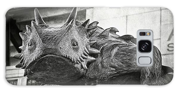 Galaxy Case featuring the photograph Tcu Horned Frog 2014 by Joan Carroll