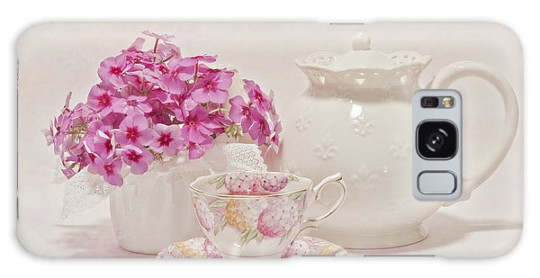 Tea For You Galaxy Case by Sandra Foster